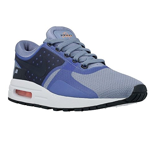 Nike Air Max Zero Essential GS Youth Running Shoes Olive-violet/ Work Blue/Armory Navy