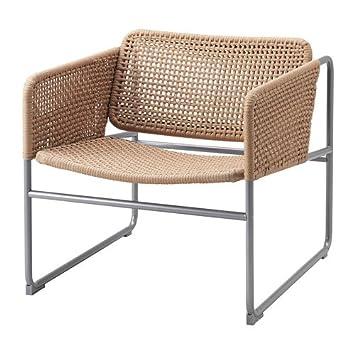 IKEA INDUSTRIELL Sessel in naturfarben: Amazon.de: Küche ...
