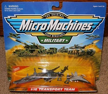 Transport Team #16 Military Micro Machines Collection