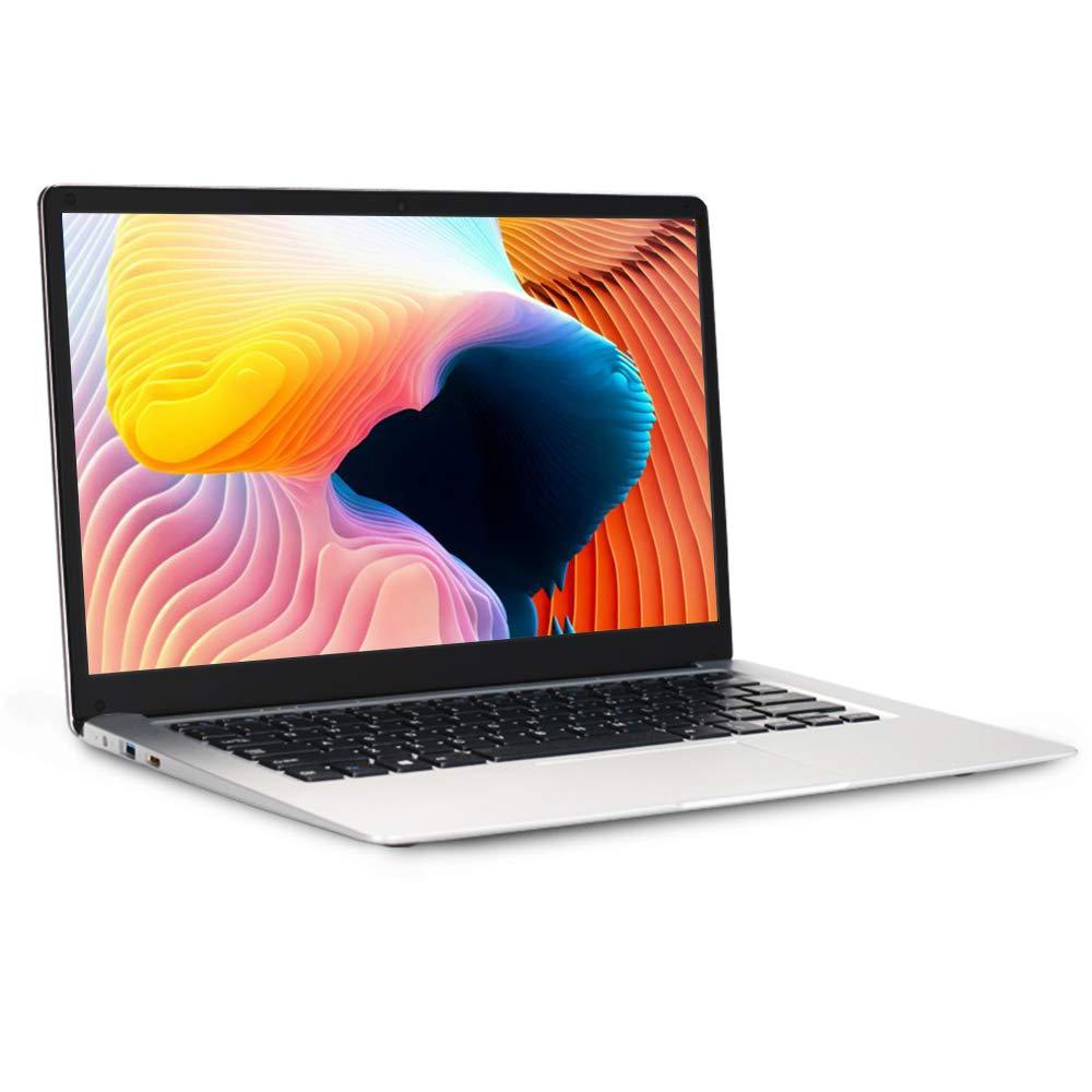 LHMZNIY-SBOOK Laptop Computer Windows 10 PC Thin and Lightweight Notebook 14.1 Display Intel Atom X5-E8000 Quad Core 4GB RAM//64GB eMMC and Extra 500GB HDD