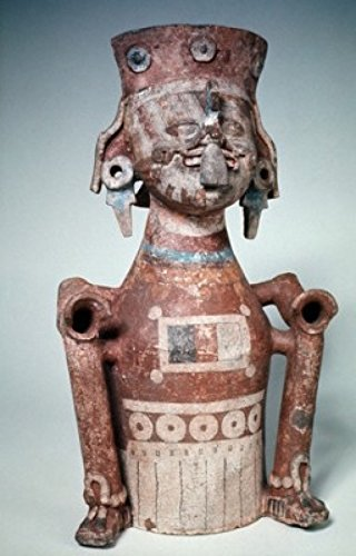 Pre Columbian Figure - Posterazzi Painted Figure Pre-Columbian Poster Print (18 x 24)