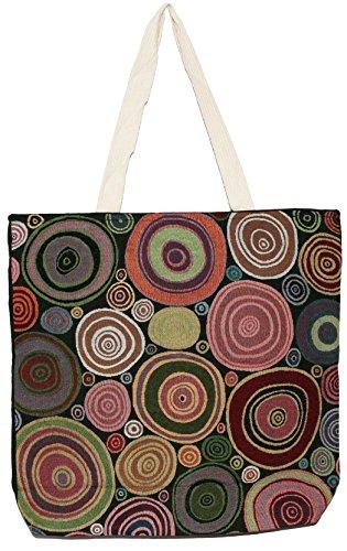 Top Shoulder Bag Handbag Size Big Handle Tote Bohemian B003 Hippie EwT4KUqIKf