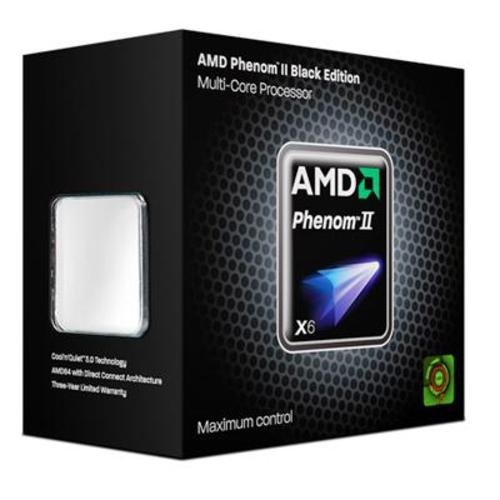 AMD Phenom II X6 1090T Processor, Black Edition (HDT90ZFBGRBOX) (Core Cpu Six Unlocked)