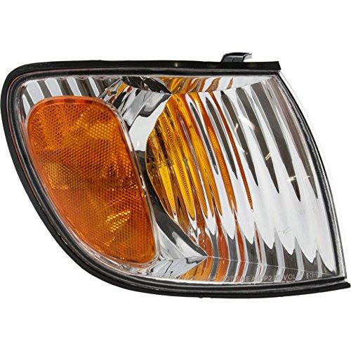 Toyota Sienna Corner Light - Evan-Fischer EVA20572013719 Corner Light for Toyota Sienna 01-03 Corner Lamp RH Assembly Right Side