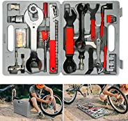 Allnice Bike Tool Kit, 44 Pcs Bike Repair Tool Kit Bicycle Tools with Carrying Case, A Must-Have Maintenance T