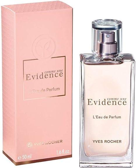 Yves Rocher Comme une Evidence Perfume 3 piezas Set de regalo: Comme une Evidence Eau de Perfume, 50 ml, Loción corporal perfumada, 200 ml & Gel de