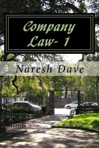 Download Company Law- 1 PDF