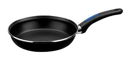 Monix Duna - Lote 3 sartenes 20, 22, 24 cm de acero esmaltado negro