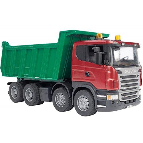 Free Bruder Scania R-Series Dump Truck