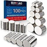 DIYMAG 3MM-Mix 100 Piece Refrigerator Magnets for