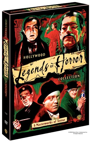 Hollywood's Legends of Horror Collection (Doctor X / The Return of Doctor X / Mad Love / The Devil Doll / Mark of the Vampire / The Mask of Fu Manchu) by Warner Home Video