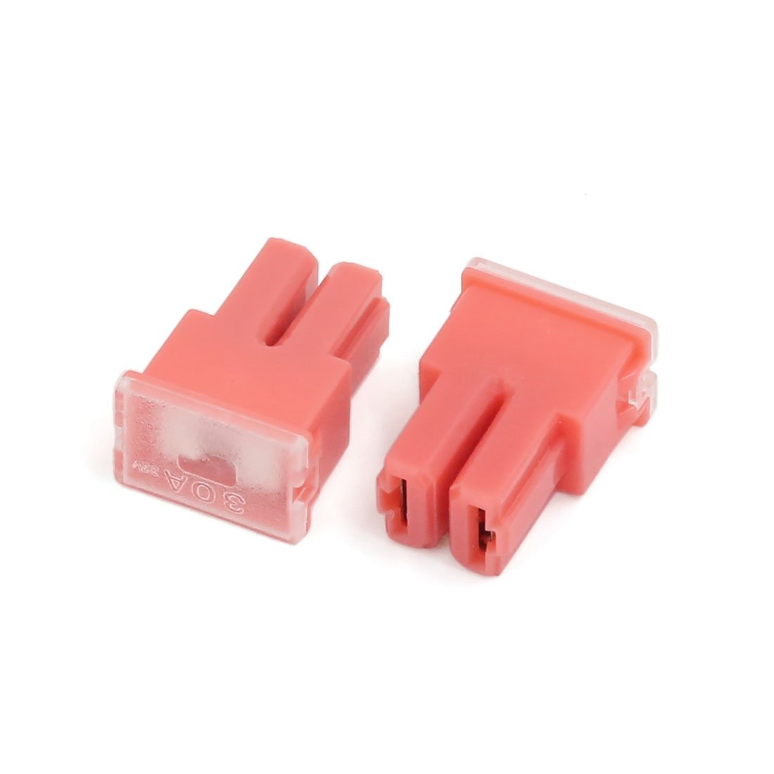 uxcell 50A 32V Car Pacific Type PAL Female Terminals Slow Blow Slot Fuses Red 5pcs