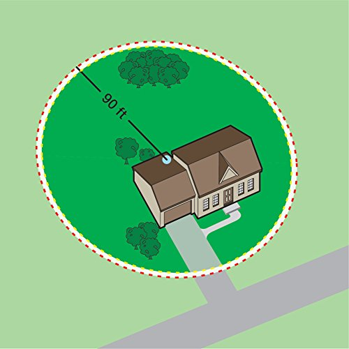 PetSafe Free to Roam Wireless Dog and Cat Containment Fence, Covers up to ½ Acre Perimeter, for...