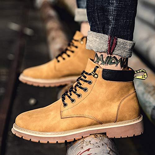LOVDRAM Stiefel Männer Martin Martin Martin Stiefel Herren Winter Cotton Stiefel In Den Stiefeln, Stiefel, Stiefel, Wild Snow Stiefel, Gelbe Stiefel 69f4a6