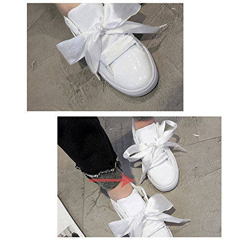 Flat Laces Huayang Multi Color Shoestrings Fashion Fantastic Shoelaces Pink 120CM Trainer New Satin nZOq6Zaw8