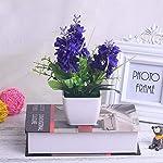 MARJON-FlowersArtificial-Hyacinth-Fake-Flower-DIY-Silk-Flower-Small-Potted-Plant-Flowers-Wedding-Bridal-Decoration-for-Home-Hotel-Desktop-Decoration-Ornaments