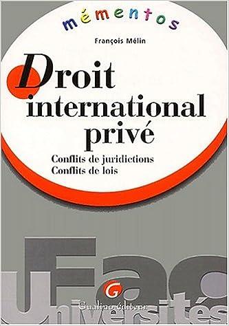 Livres gratuits en ligne Mémento Droit international privé pdf epub