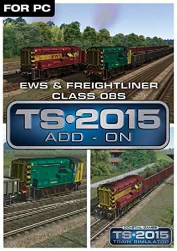 Amazon com: EWS & Freightliner Class 08s Loco Add-On [Online