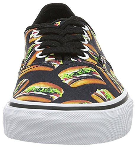 Black Authentic Authentic Vans Vans Hamburgers Vans Authentic Black Hamburgers W0140f
