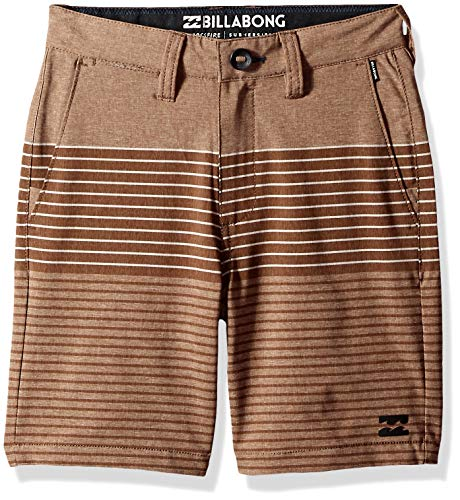 (Billabong Boys' Crossfire X Stripe Shorts Brown 27)