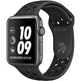 Apple Watch Nike+ Series 3, Cassa in alluminio grigio siderale con cinturino Nike Sport antracite/nero
