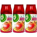Air Wick Recharge Freshmatic Max Cannelle Gourmande et Pomme Croquante 250 ml - Lot de 3