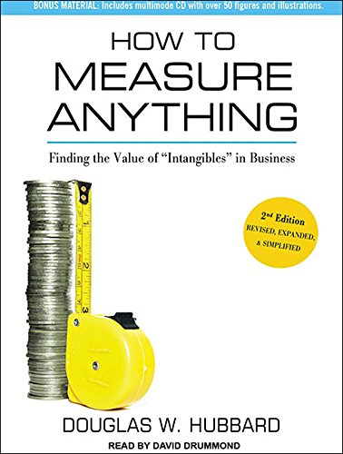 How to Measure Anything: Finding the Value of ''Intangibles'' in Business by Tantor Audio