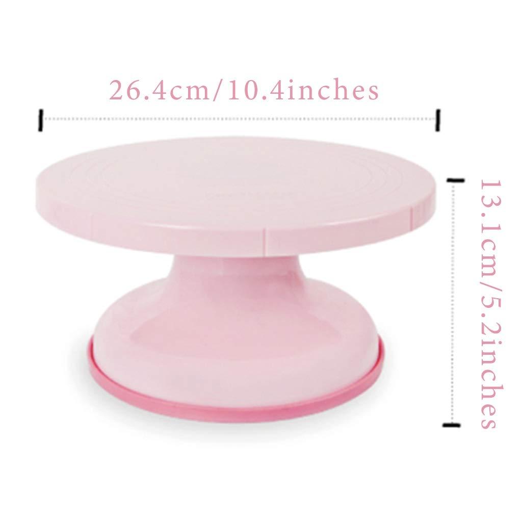 Cake turntable Tocadiscos de plástico para Tartas de cumpleaños ...