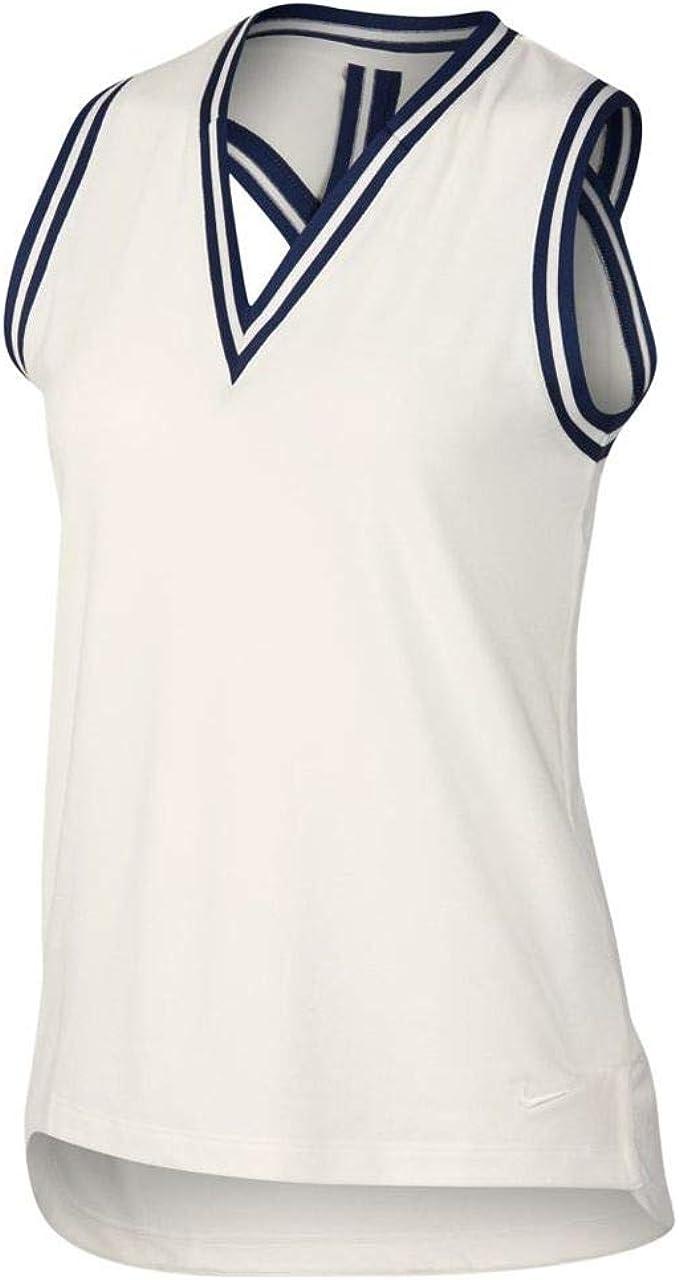 Nike Dri-FIT Polo, Blanco (Blanco 133), Small (Tamaño del ...