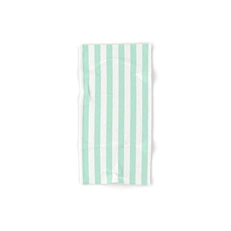 Mint Green Bath Towels Best Amazon Society60 Mint Green And White Stripesvertical Set Of 60