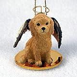 Goldendoodle Christmas Ornament Angel
