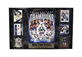 Encore Select 531-20 NFL New York Giants Super Bowl XLVI Champions 6 Card Plaque, 13-Inch by 20-Inch