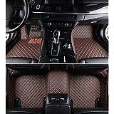 SureMart para Honda CR-V 2017-2019 Tapetes Personalizados Cuero XPE Protección Envolvente Completa Impermeable Antideslizante Estera del Coche Interior Liners Café