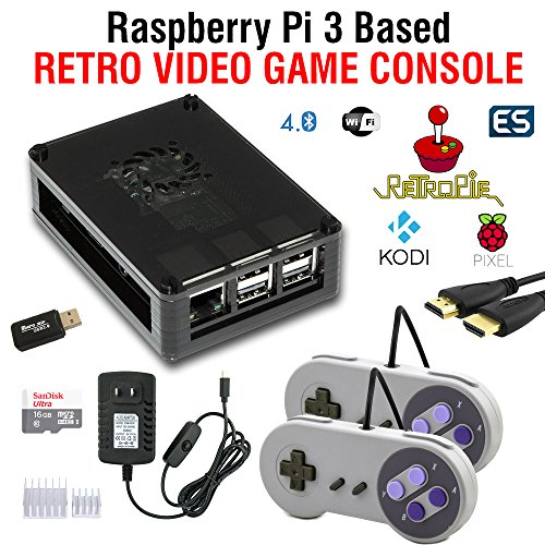 RetroBox - Raspberry Pi 3 Based Retro Game Console