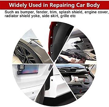 Car Retainer Clips 299PCS Auto Plastic Rivets Body Kits Bumper Fastener Push Pins-18Most Popular Sizes Nylon Retainer With 5PCS Remover Tools For Benz,Bmw,Subaru,Audi,Ford,Toyota,Honda,Nissan,Chrysler