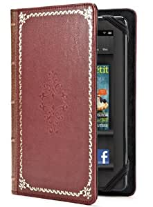 Verso Prologue Case Cover for Kindle Fire, Red (does not fit Kindle Fire HD)