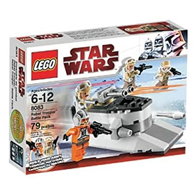 LEGO Star Wars Rebel Trooper Battle Pack (8083): Toys & Games [5Bkhe2007013]