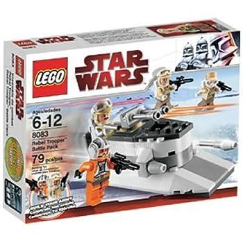 Amazon Lego Star Wars Rebel Trooper Battle Pack 8083 Toys