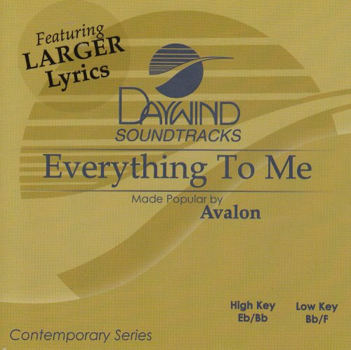 - Everything To Me [Accompaniment/Performance Track]