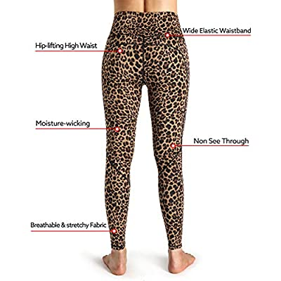 STYLEWORD Womens Yoga Pants with Pockets High Waist Workout Leggings Running Pants: Clothing