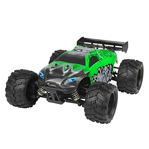 RC CarG18-1 2.4G 1/18 Scale High Speed Kids Drive Toys Off-road 45Km/h Remote Control Buggy-Green