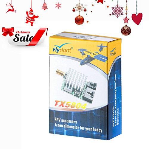 FPV Transmitter 400mW Flysight Wireless Digital AV Transmitter 5.8GHz 40CH FPV VTX (RPSMA ANT)