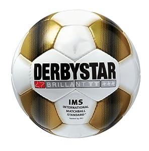 Derbystar Fußball Brillant TT, Gold, 1711500192