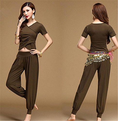 de coton PCS du green danse usure deep yoga modal Femmes ventre usure 2 de usure 5q0wAT