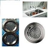 V-VAPE 3 x Sink Strainer Bath Basin Filter Kitchen Metal