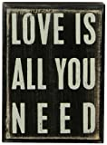 Primitives By Kathy Box Sign, Love Is All
