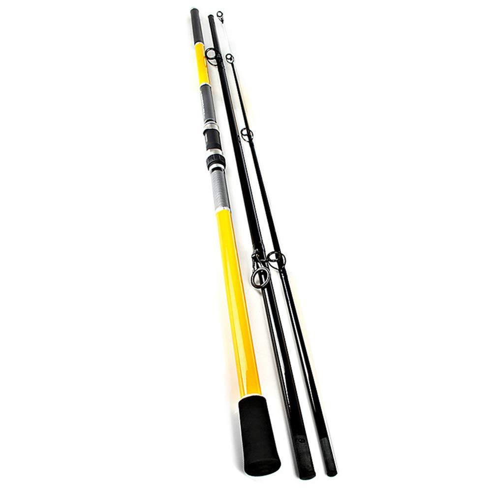 釣り竿 FRP 超軽量 スーパーハード 3つのセクション アンカーロッド コイポール ロングショットシーロッド 3.9m  B07PM45X74