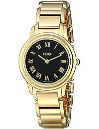 Fendi Women's F251431000 Classico Analog Display Quartz Gold Watch
