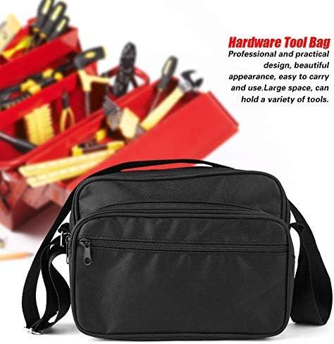 xuuyuu ツールバッグ 道具袋 工具バッグ ツールキャリーバッグ 工具収納&運搬用 工具差し入れ 多機能 プロフェッショナル 調節可能 収納便利 収納バッグ 収納ポーチ