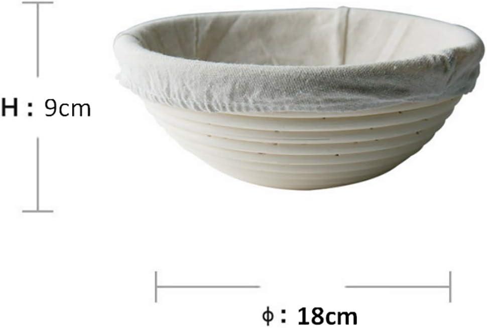 Cestino per pane in rattan strumento per la cottura del pane